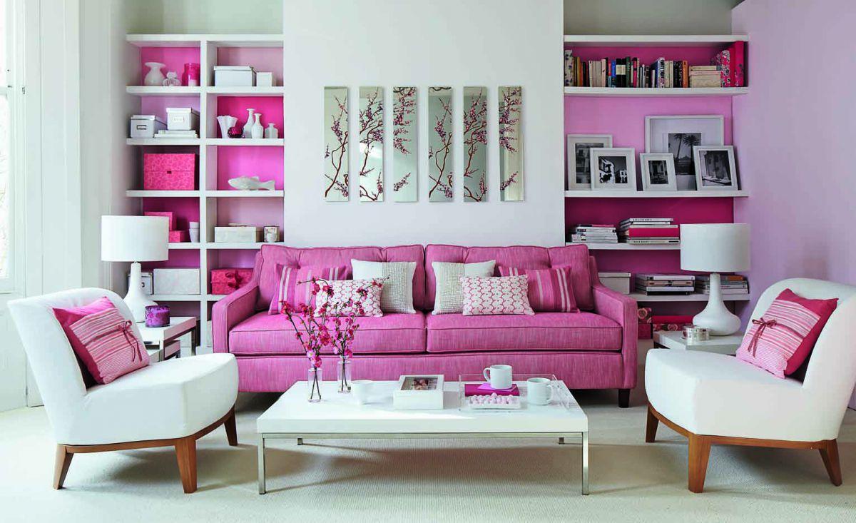 Розовый цвет в интерьере 5348