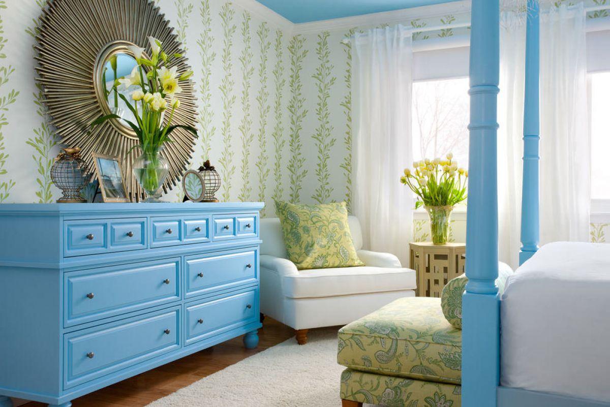 Цвет в интерьере. Голубой цвет 5403