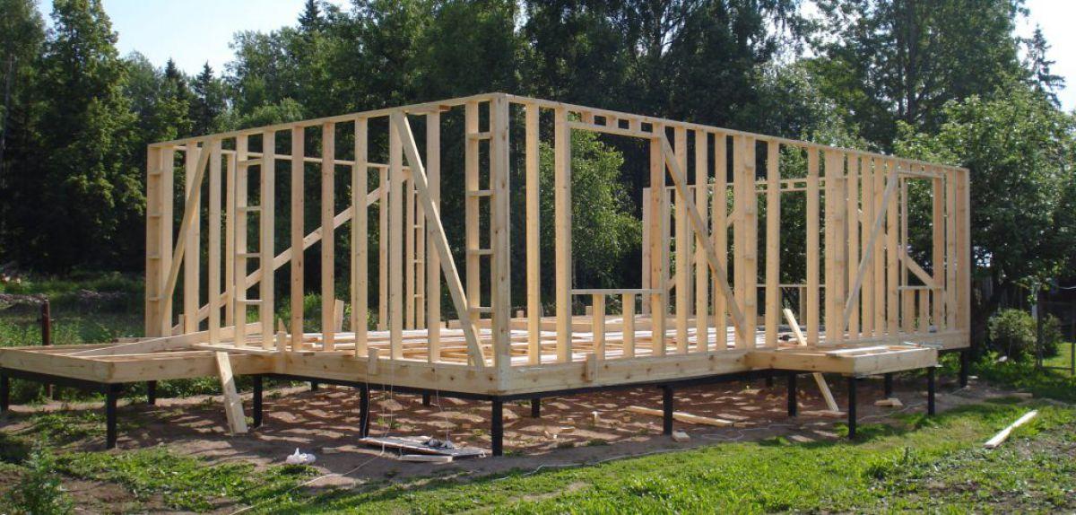 Фундамент каркасного дома 5674