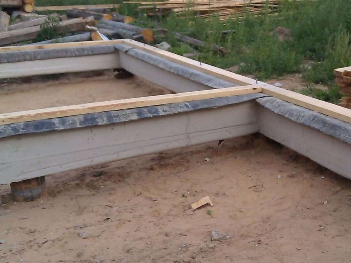 Ленточный фундамент каркасного дома 5684