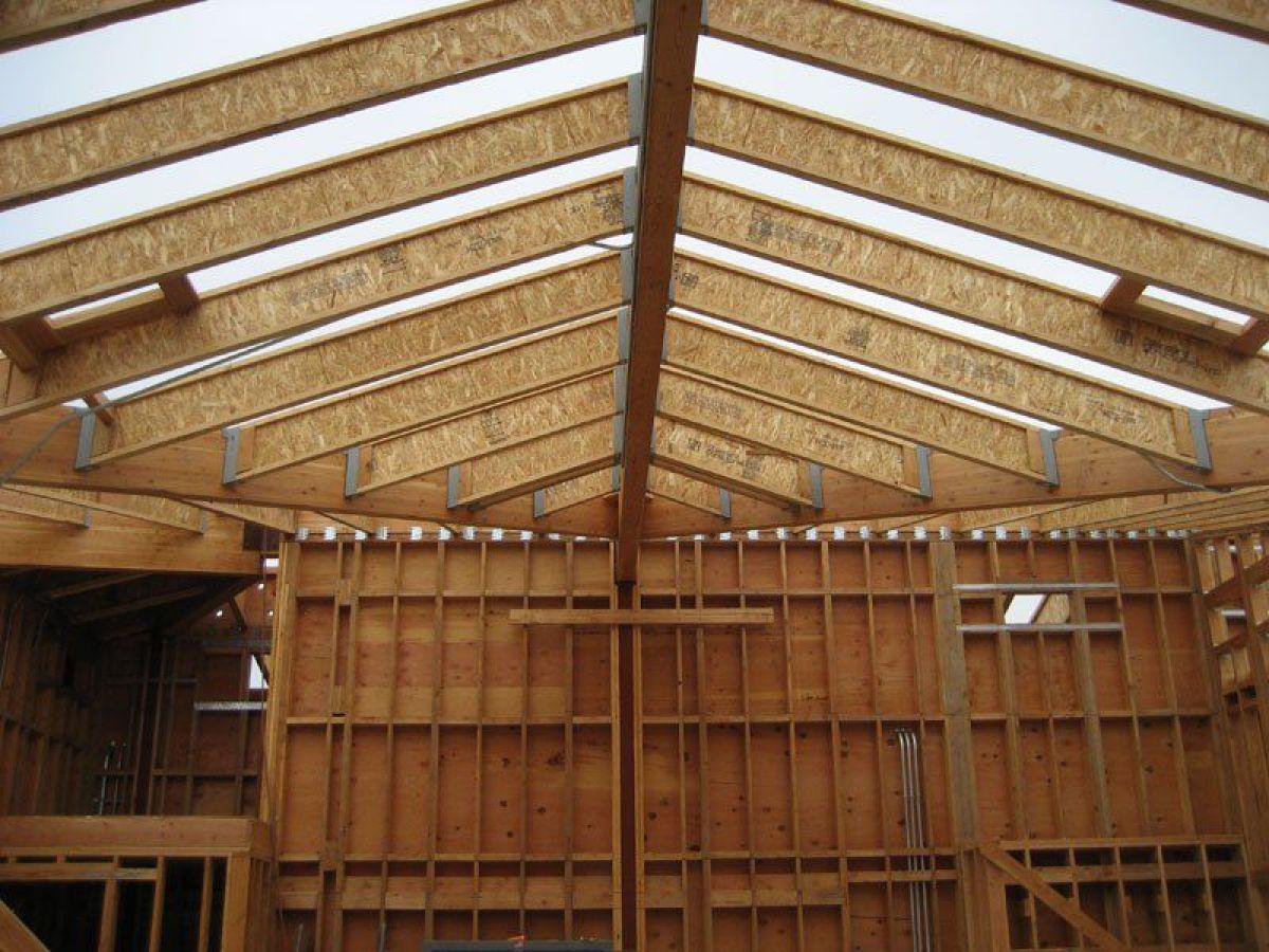 Крыша каркасного дома своими руками 5753