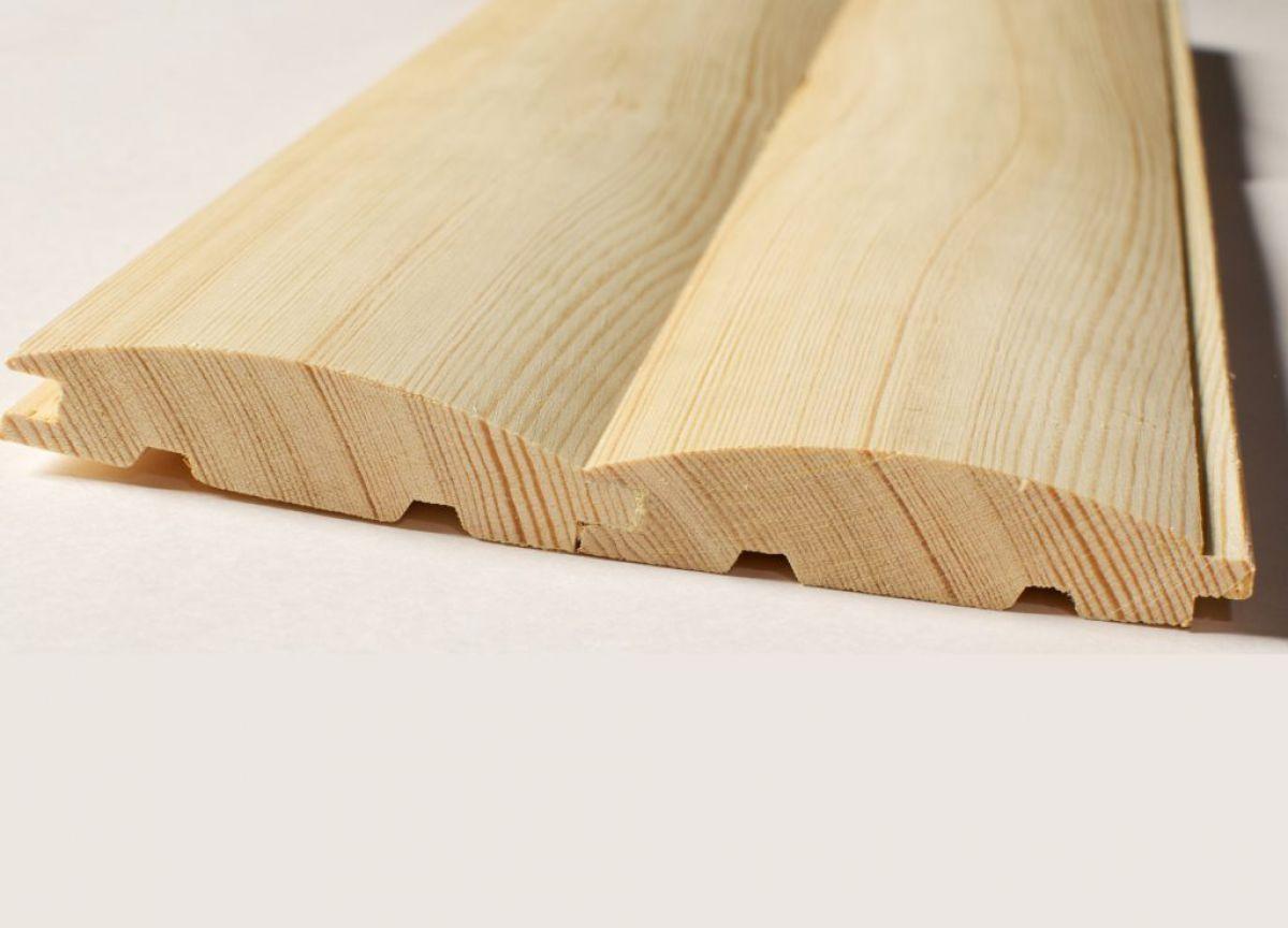 Обшивка дома деревянным сайдингом 5765