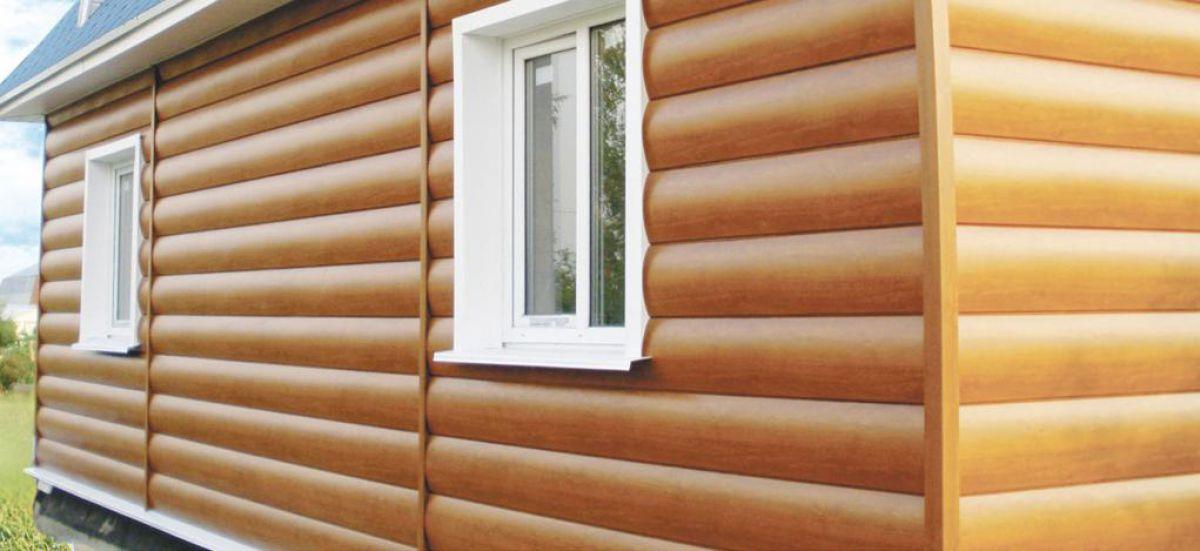 Обшивка дома деревянным сайдингом 5769