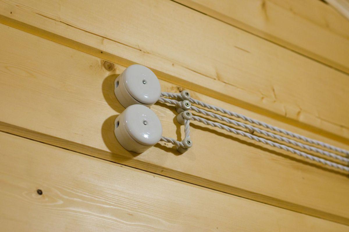 Проводка в деревянном доме 5831