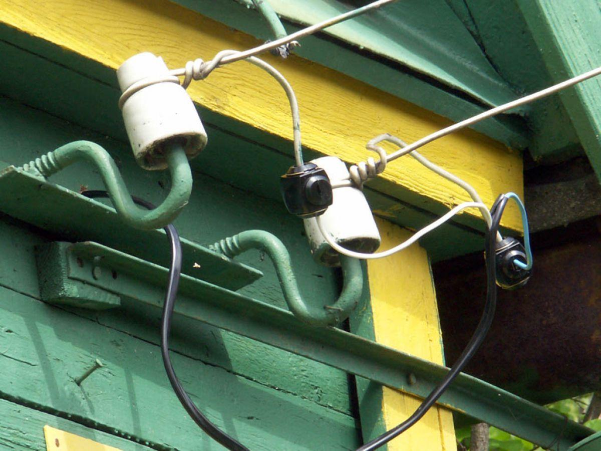 изголовьях электрический ввод в дом по воздуху фото несколько