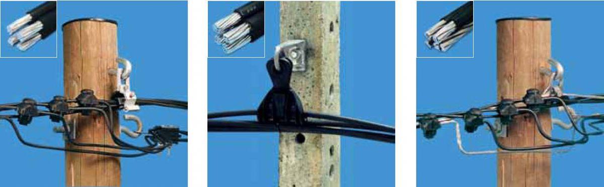 Ввод электричества в дом проводом СИП 5882