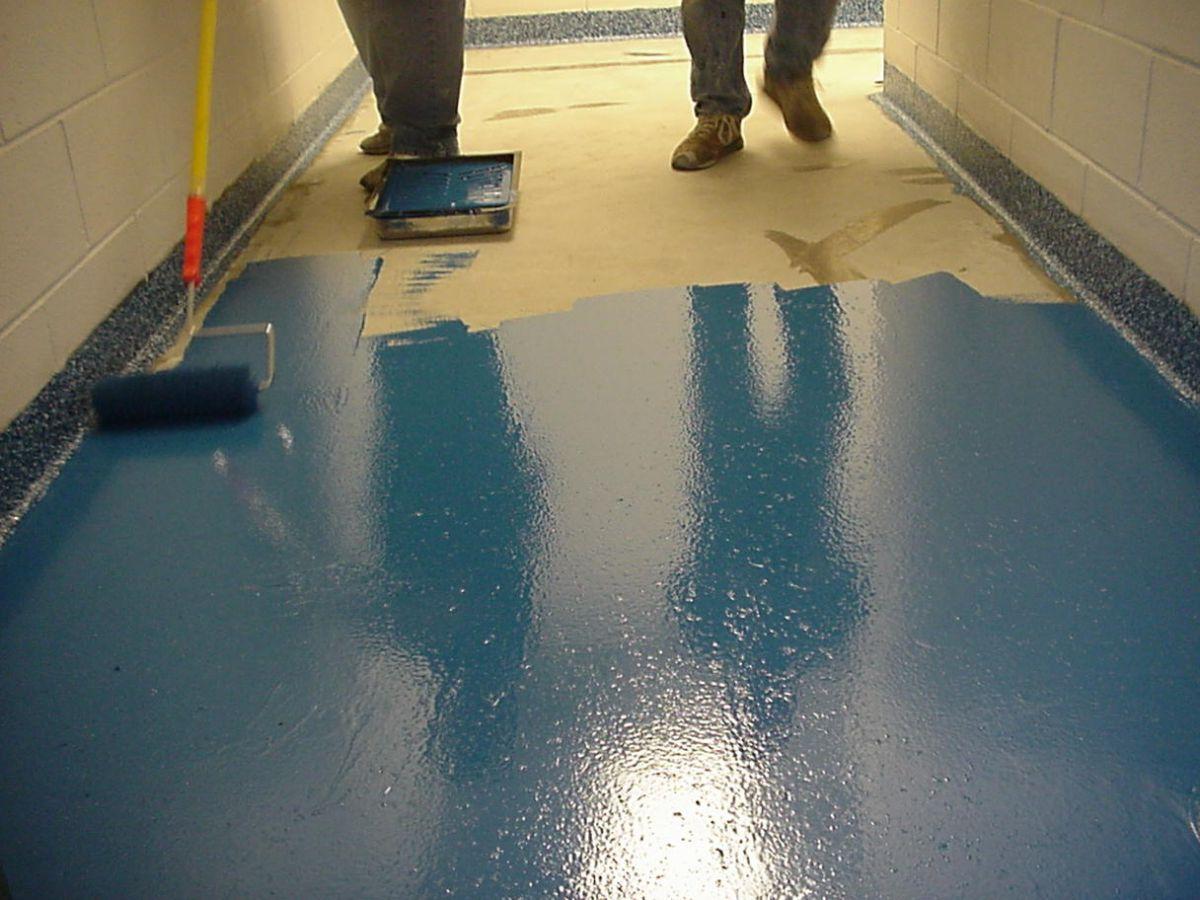 Краска для бетонного пола 5929