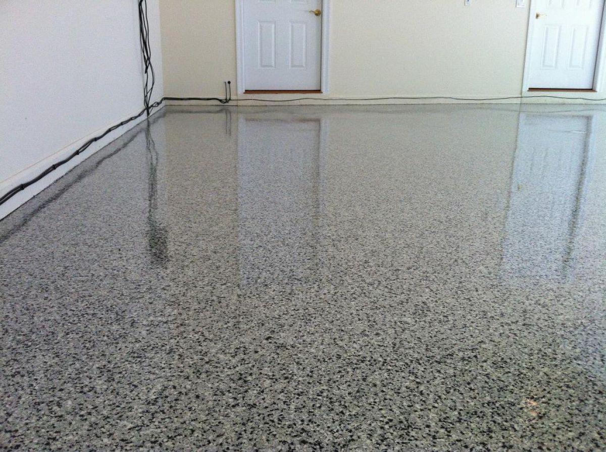 полы в виде бетона