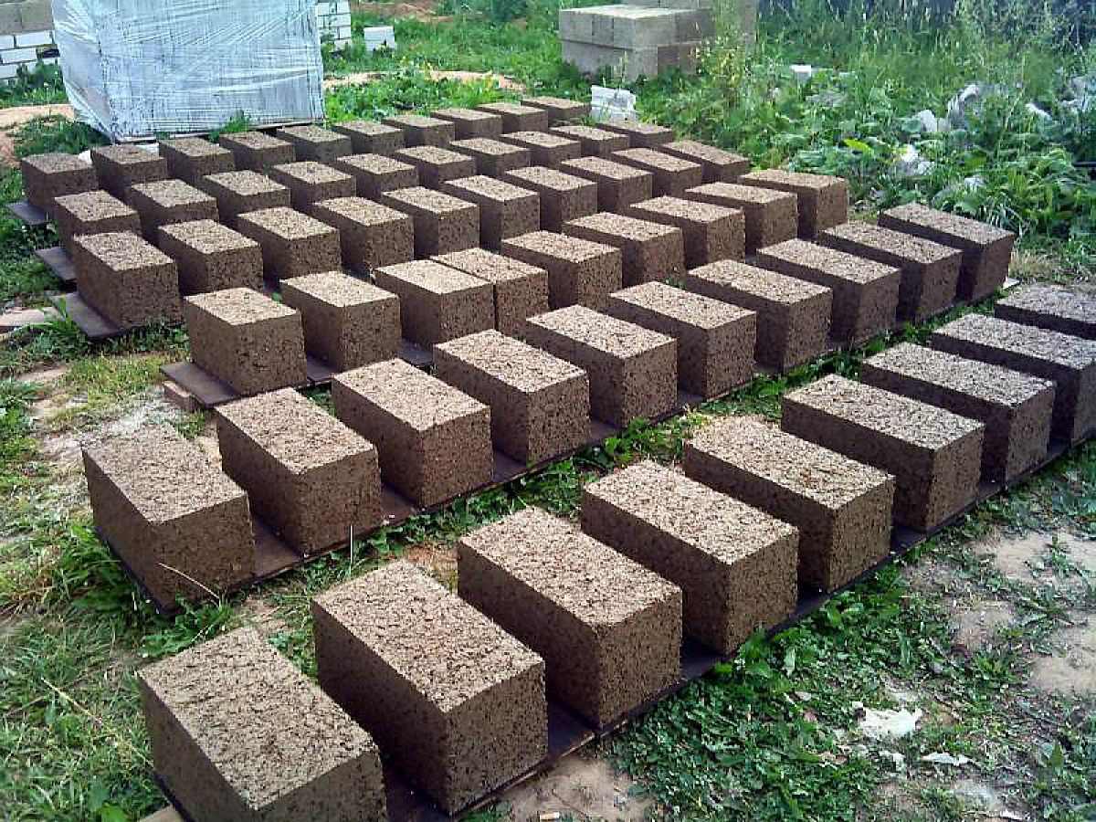 Арболитовые блоки своими руками 5952