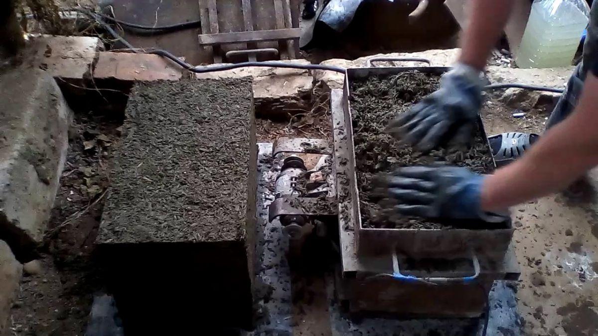 Арболитовые блоки своими руками 5956