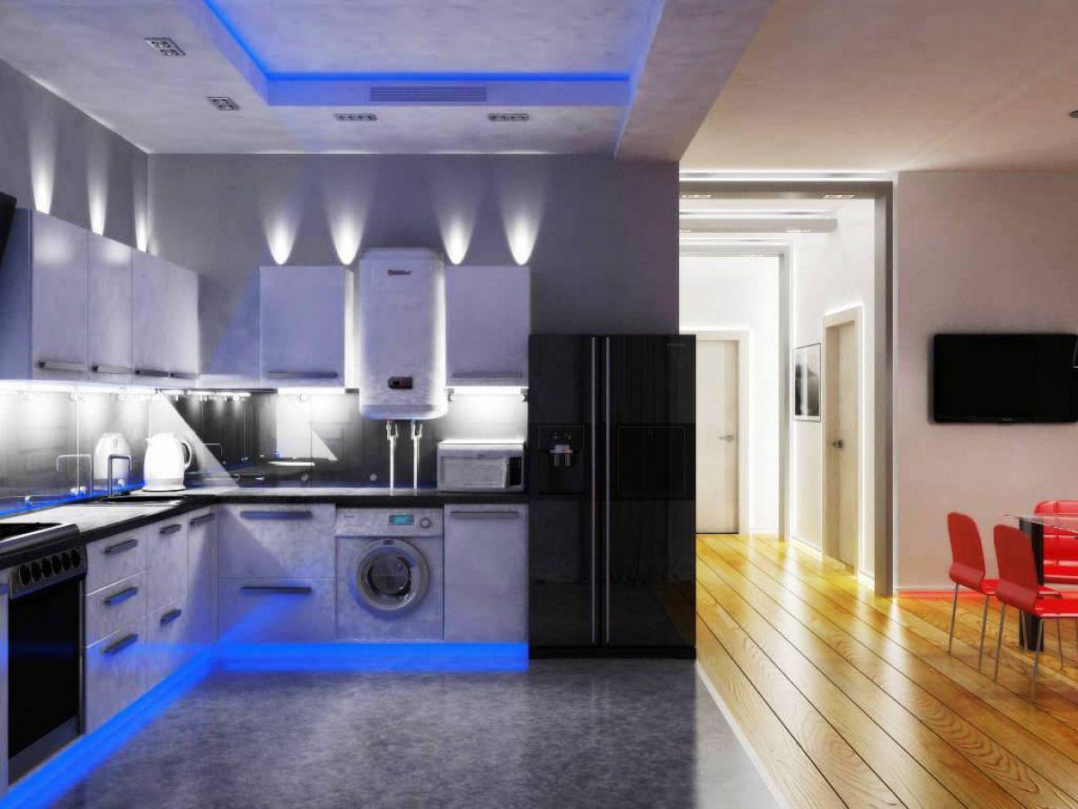 Потолок на кухне 6054