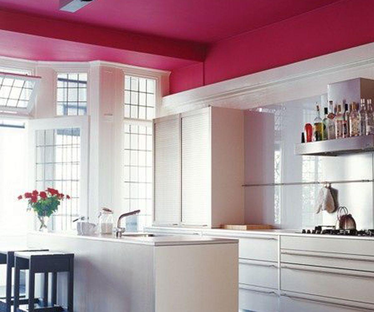 Потолок на кухне 6056