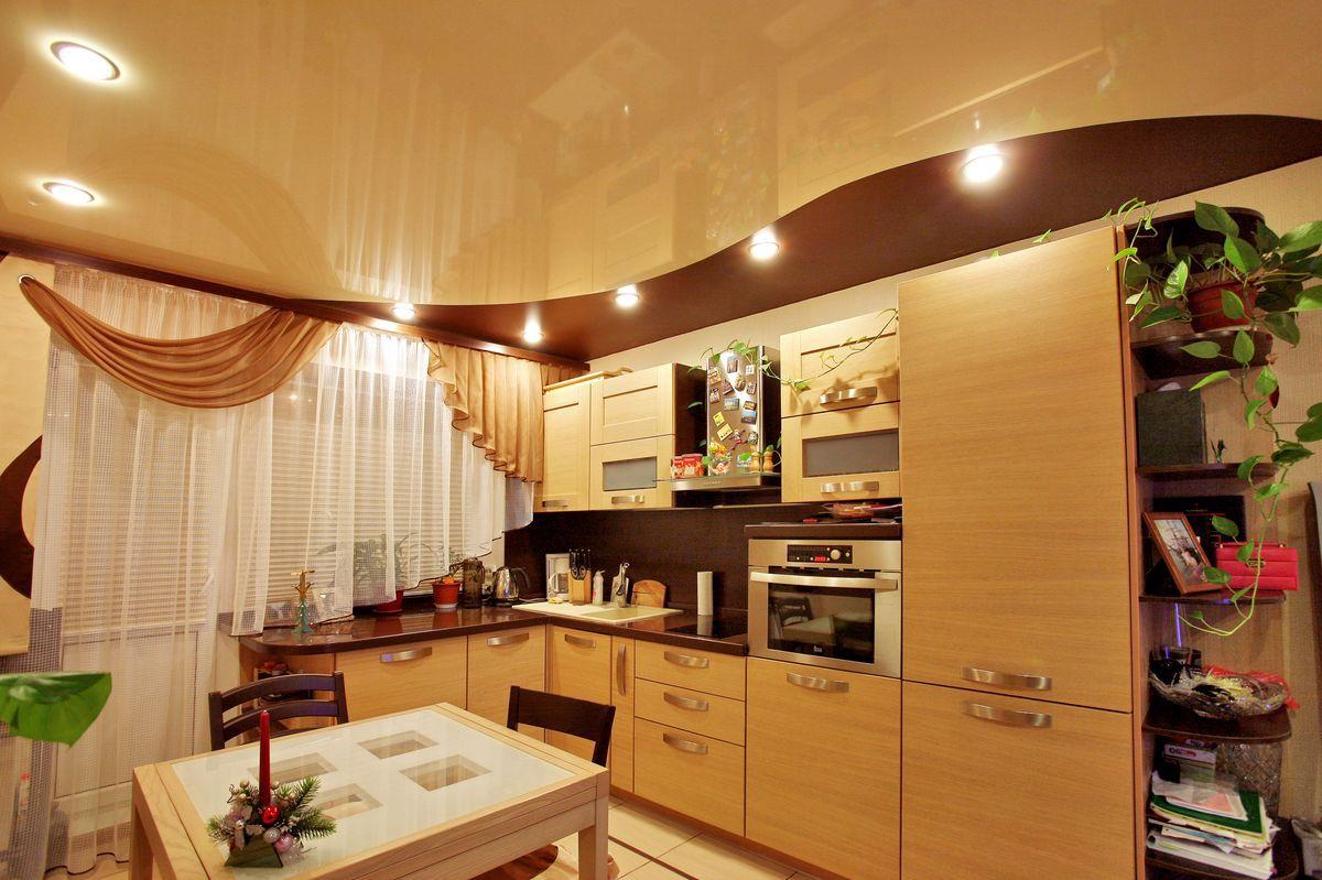 Потолок на кухне 6058