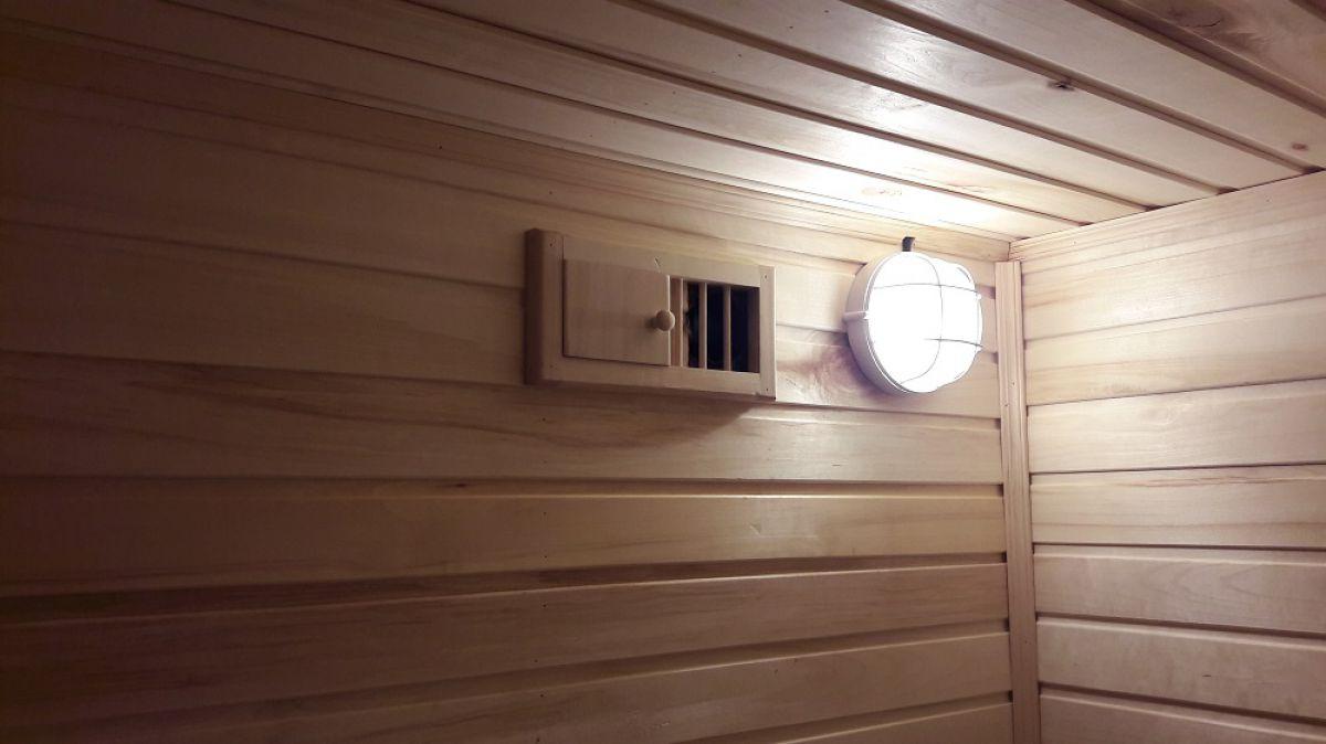 Вентиляция в бане 6101
