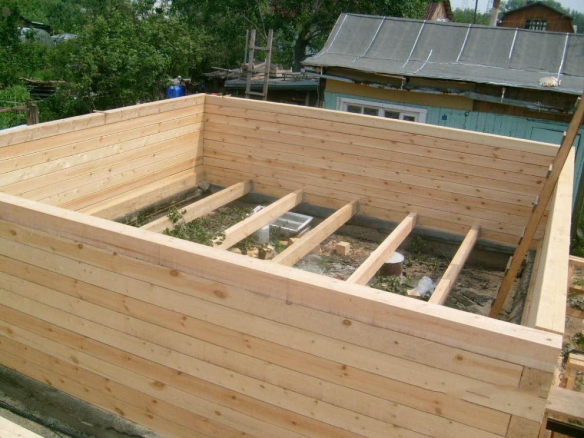 Строительство бани из бруса 6165