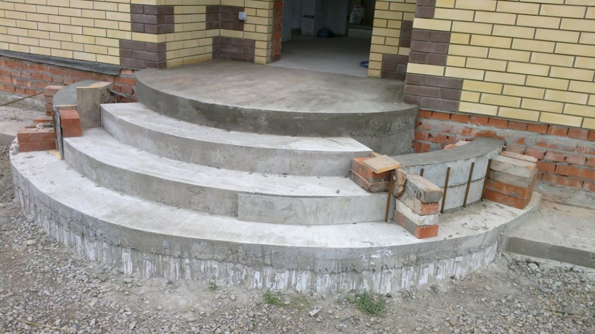 Ступени из бетона 6423