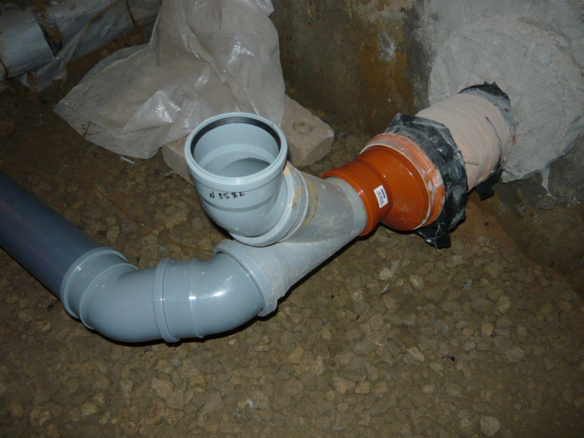 Монтаж канализации в частном доме 6658