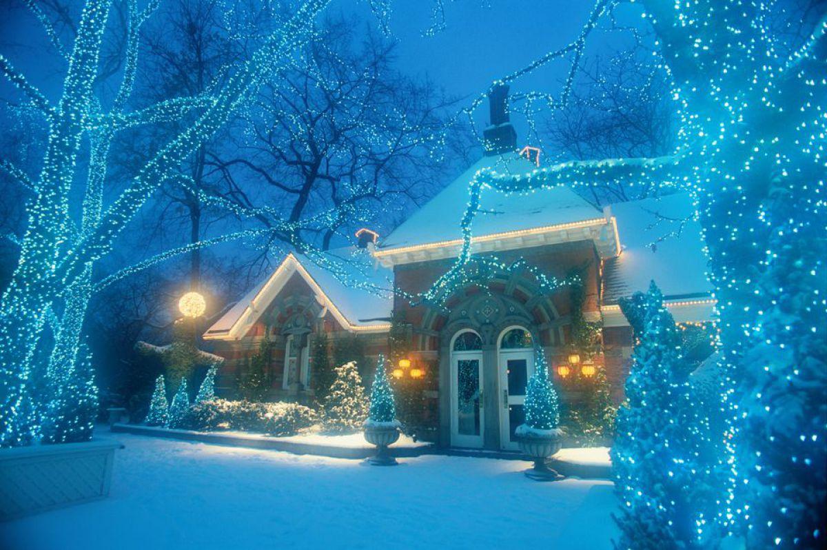 Новогоднее оформление дома 6707