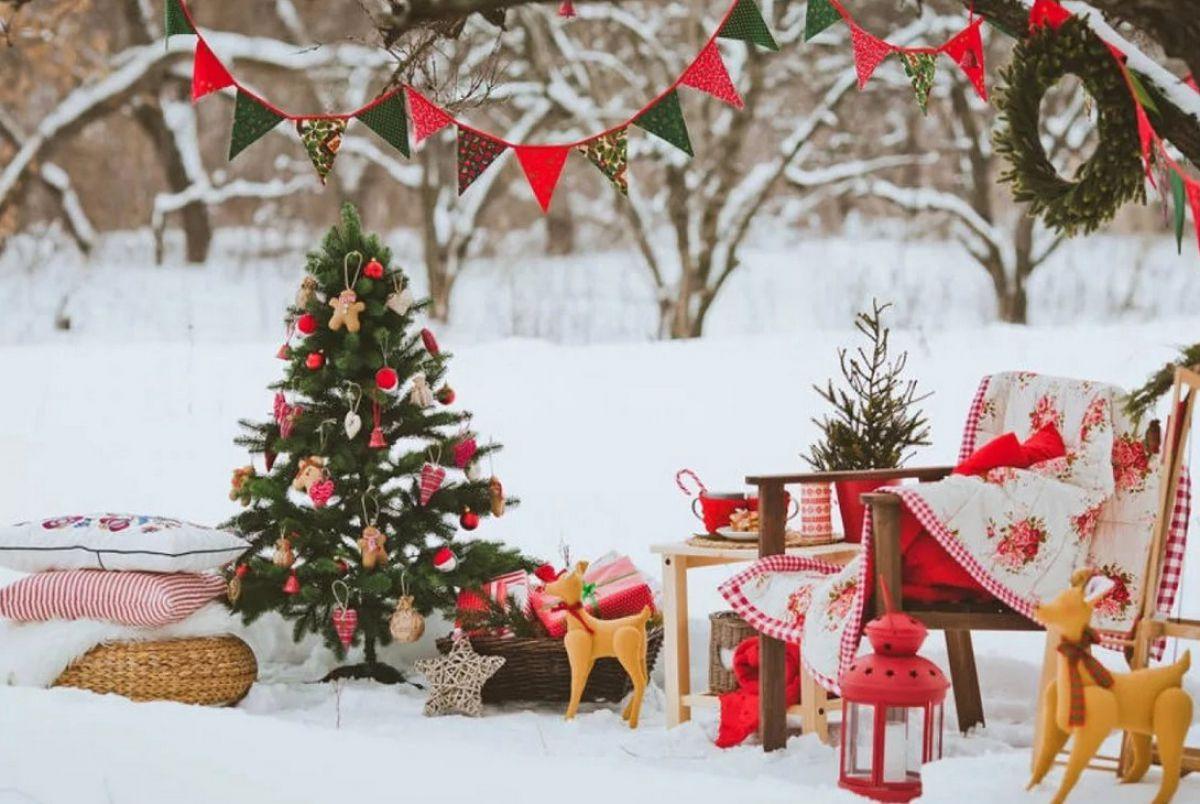 Новогоднее оформление дома 6714
