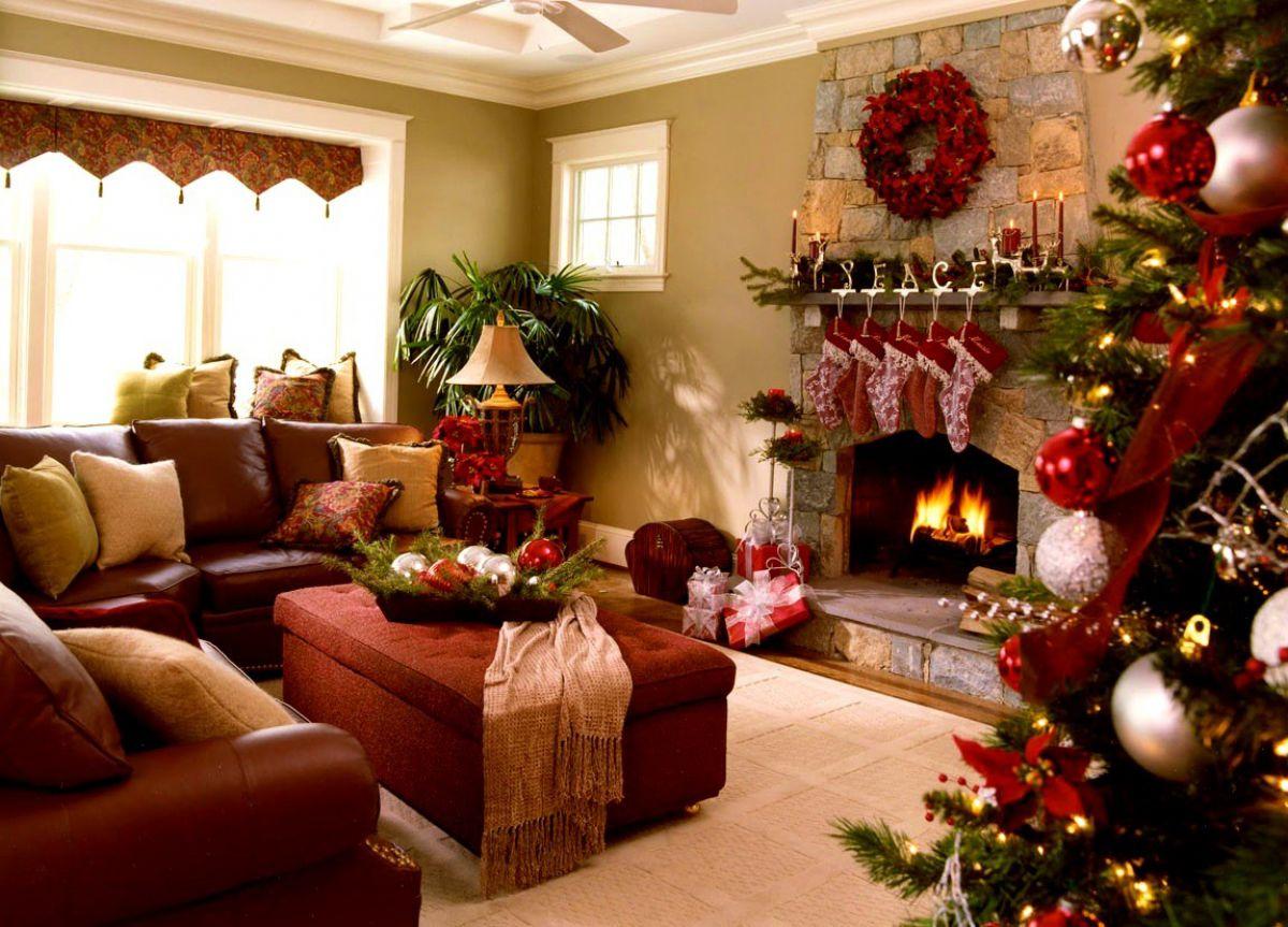Новогоднее оформление зала 6716