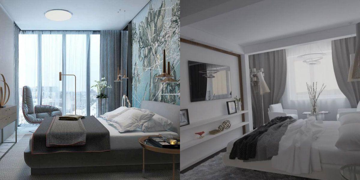 Дизайн спальни 2019 6757