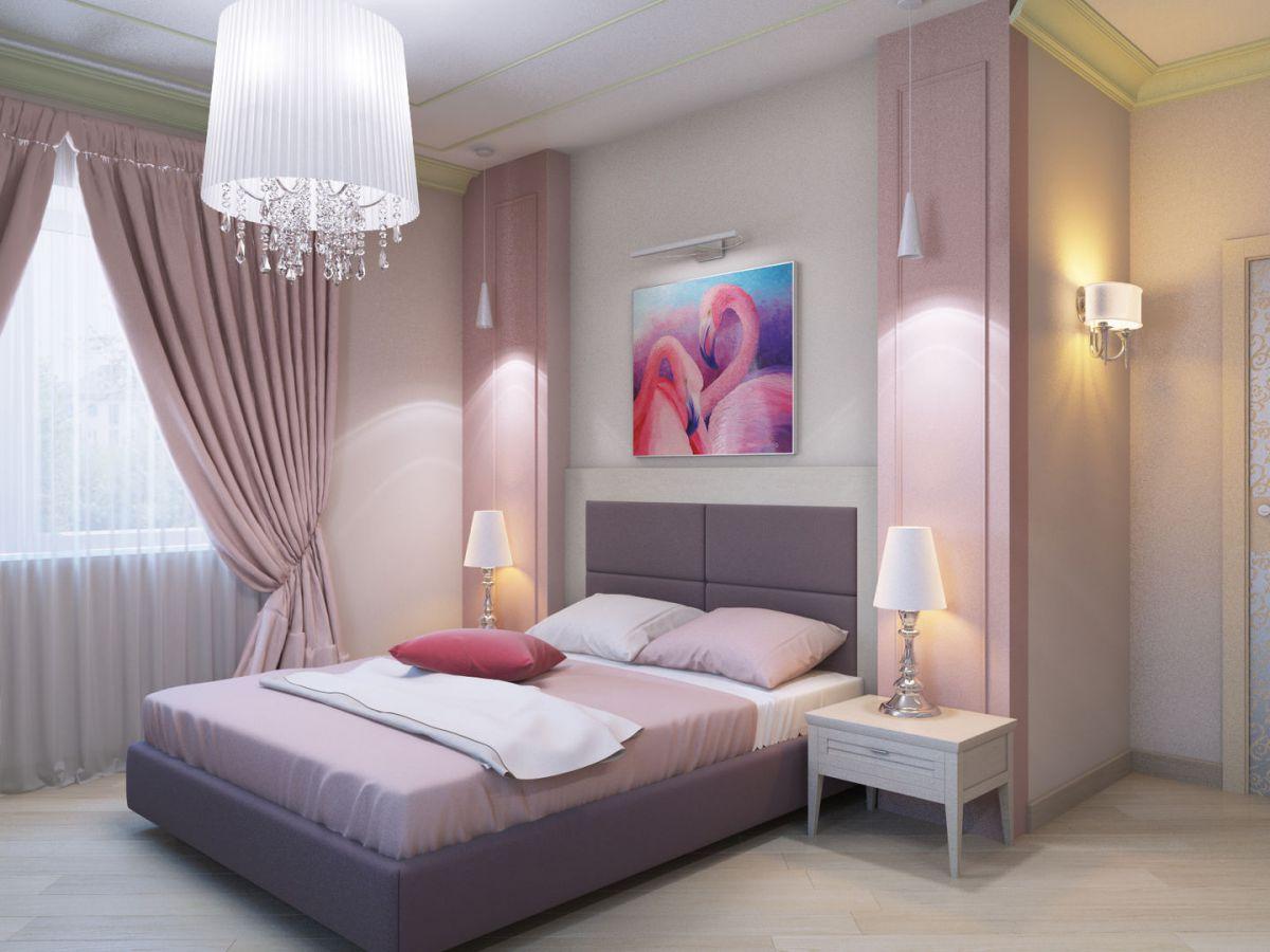 Дизайн спальни 2019 6763