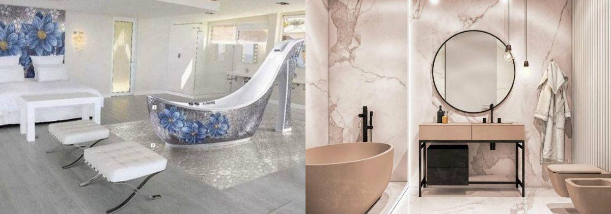 Дизайн ванной 2019 6777