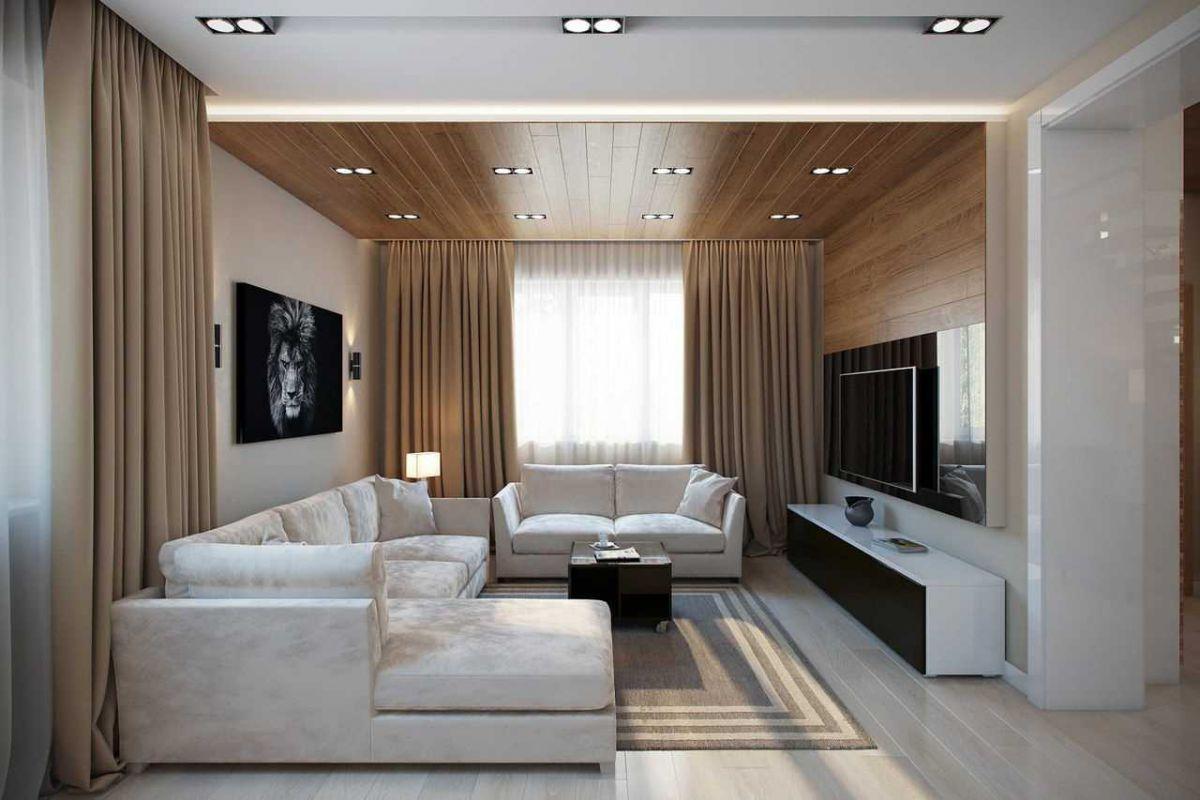 Дизайн гостиной 2019 6789