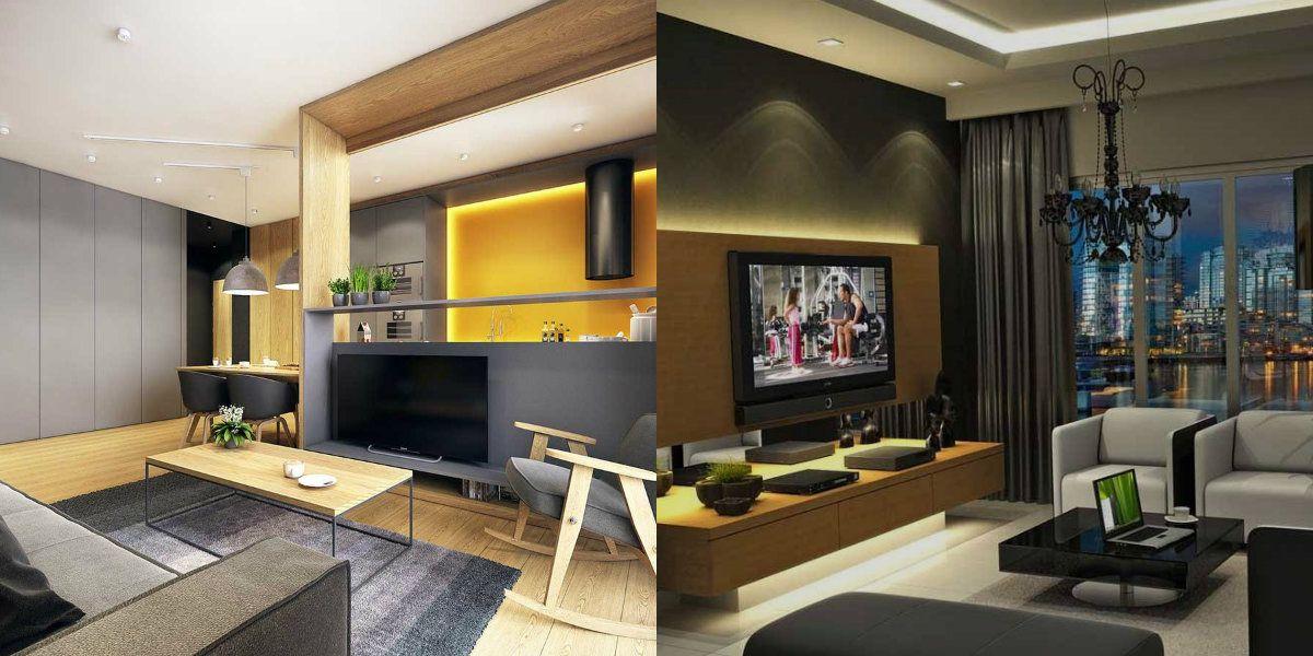 Дизайн гостиной 2019 6791