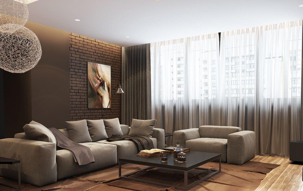 Дизайн гостиной 2019 6794