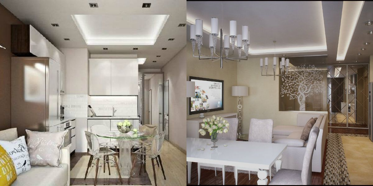 Дизайн гостиной 2019 6796