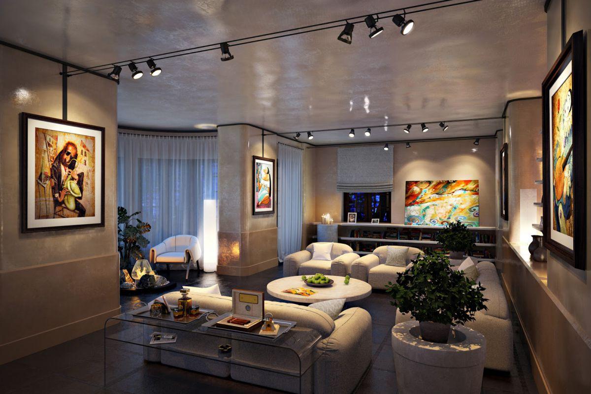Освещение в квартире, Современное освещение квартиры