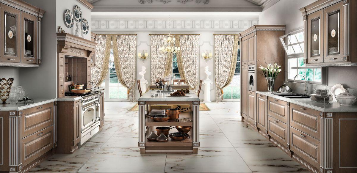 Классическая кухня 6955