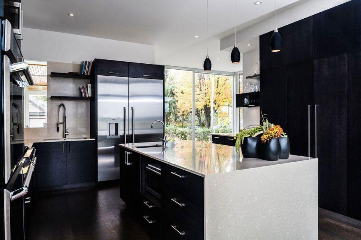 Черная кухня 6988