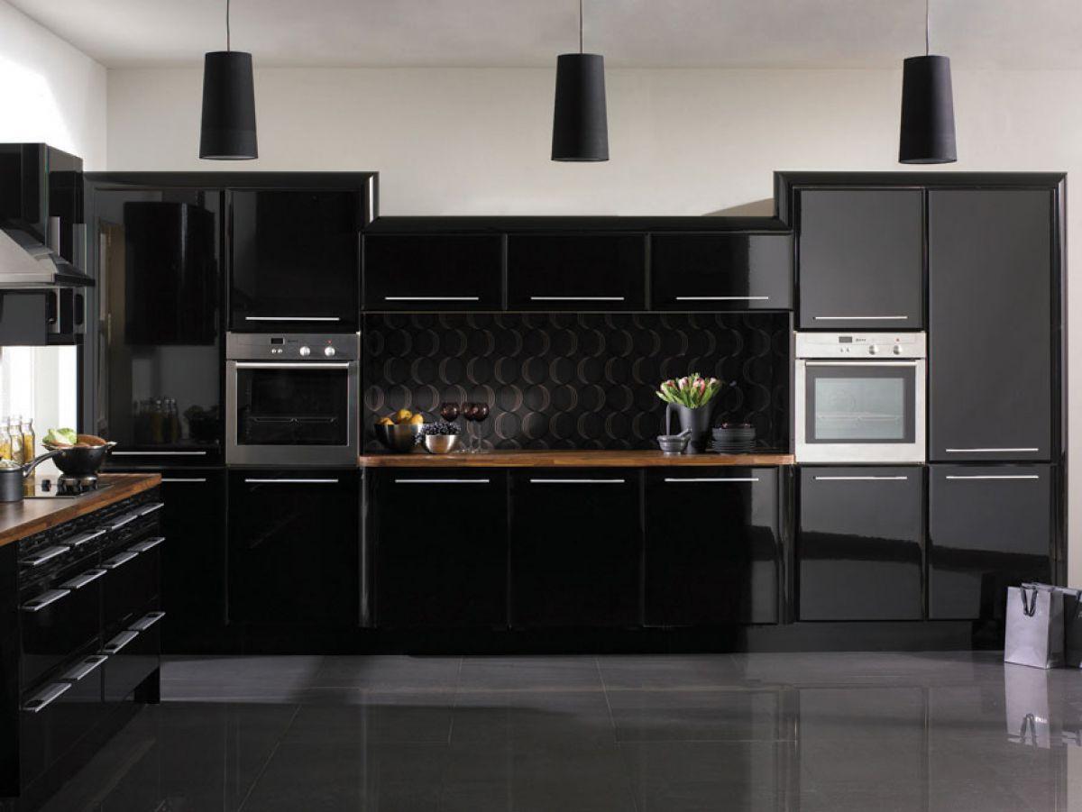 Черная кухня 6990