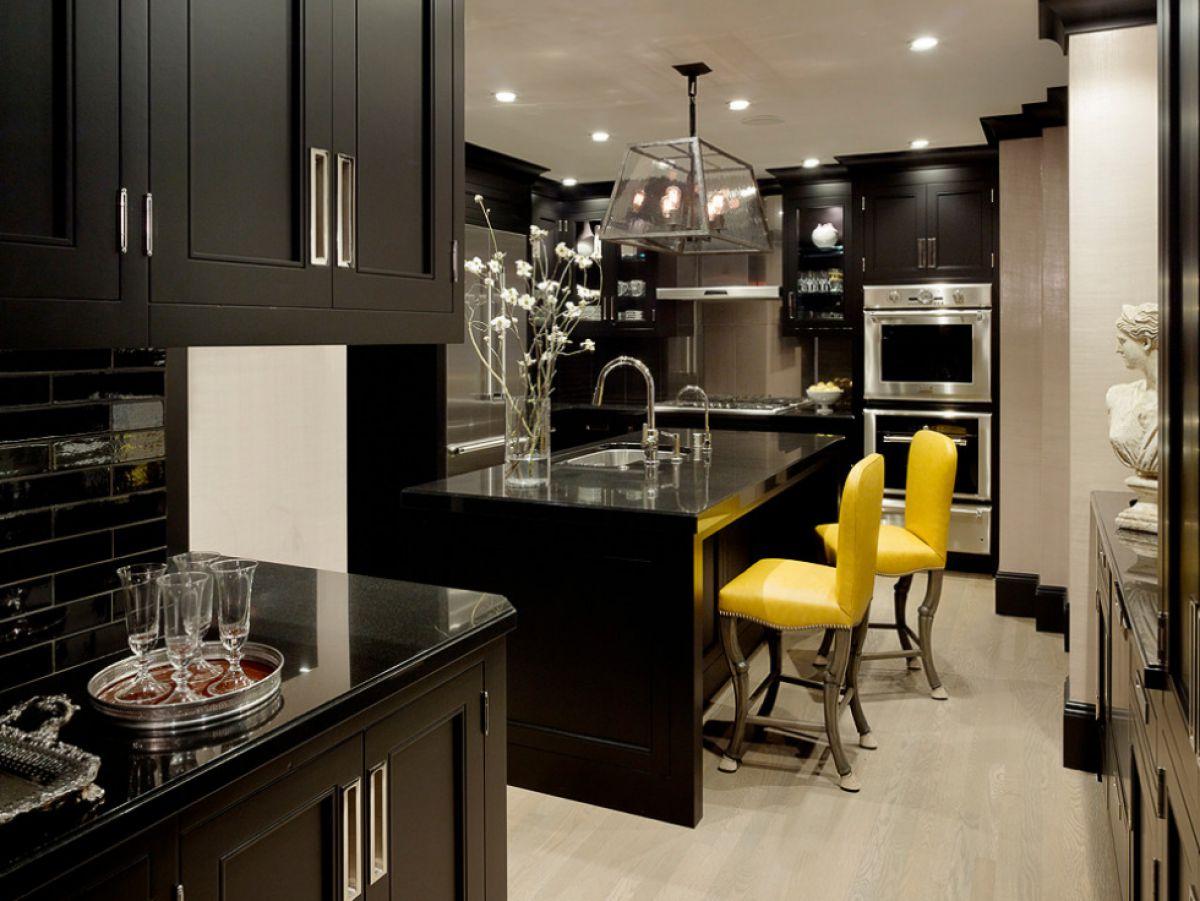 Черная кухня 6991