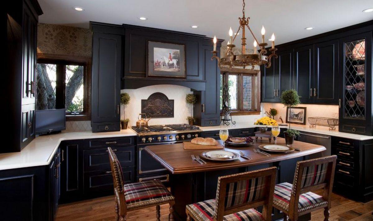 Черная кухня 6993