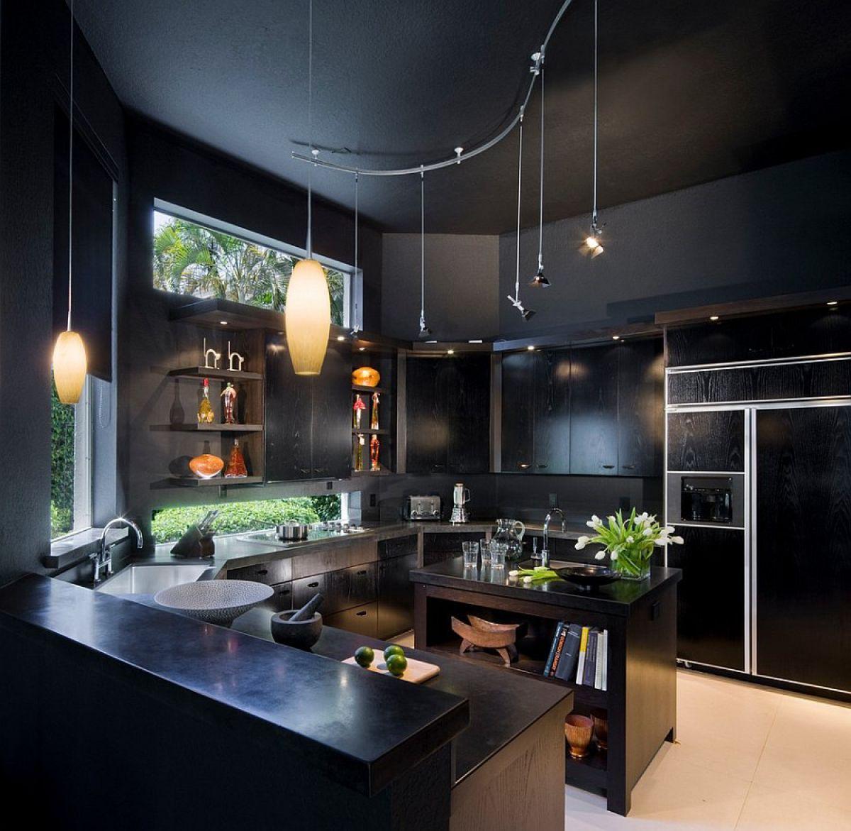 Черная кухня 6995