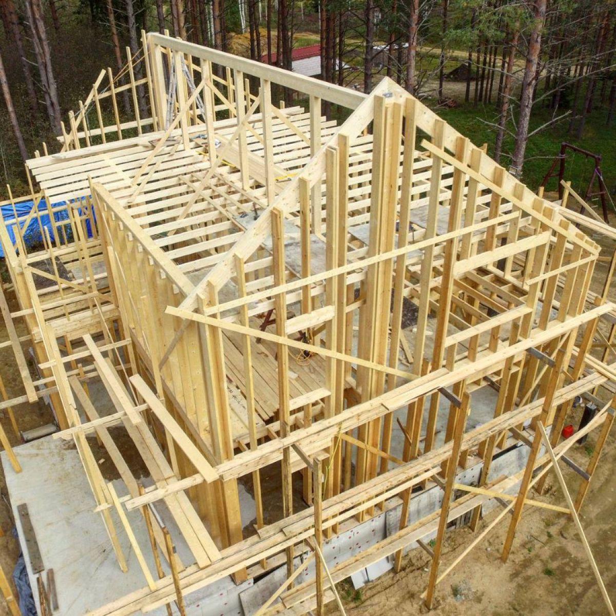 Строительство финского дома 7095