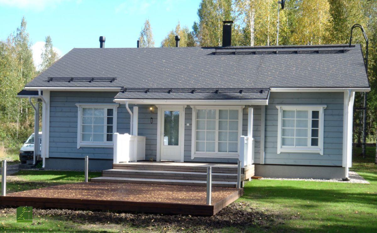 Строительство финского дома 7101