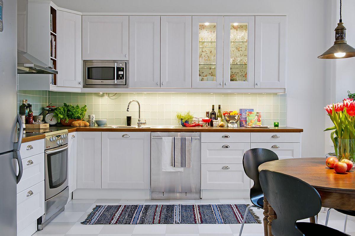Кухня в скандинавском стиле 7162