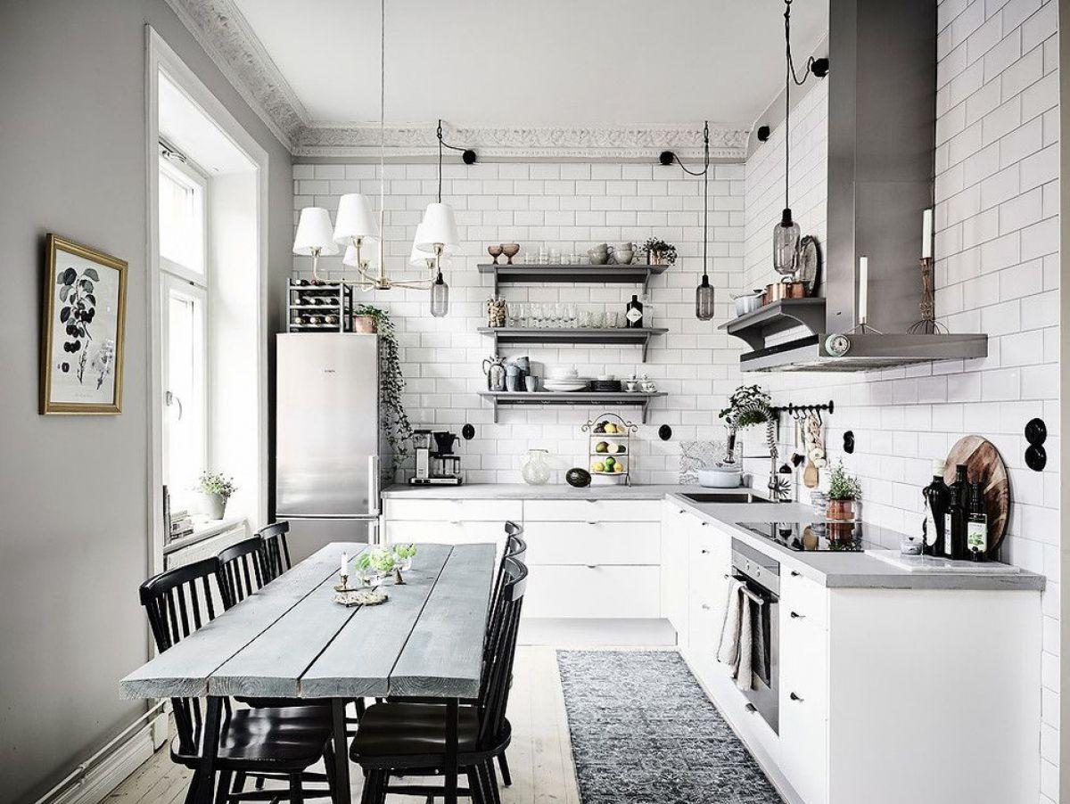Кухня в скандинавском стиле 7164