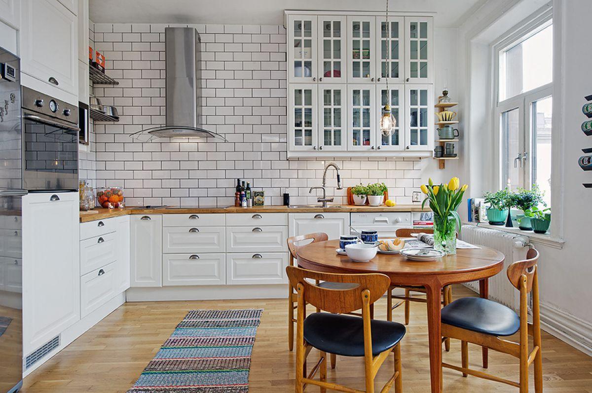 Кухня в скандинавском стиле 7167
