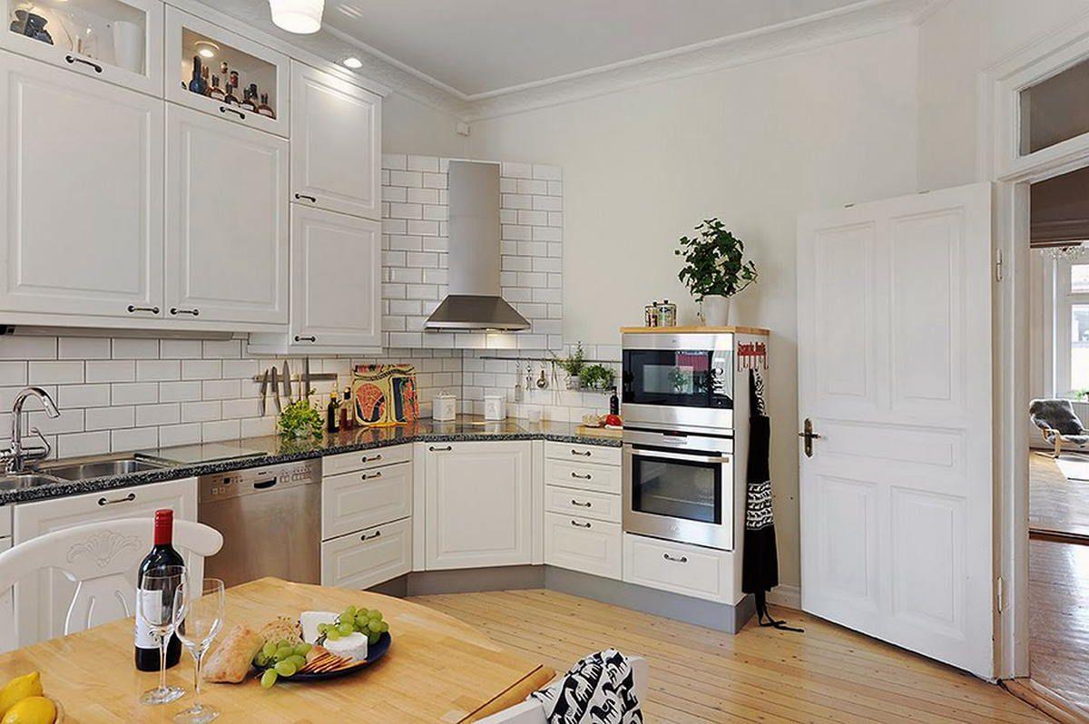 Кухня в скандинавском стиле 7168