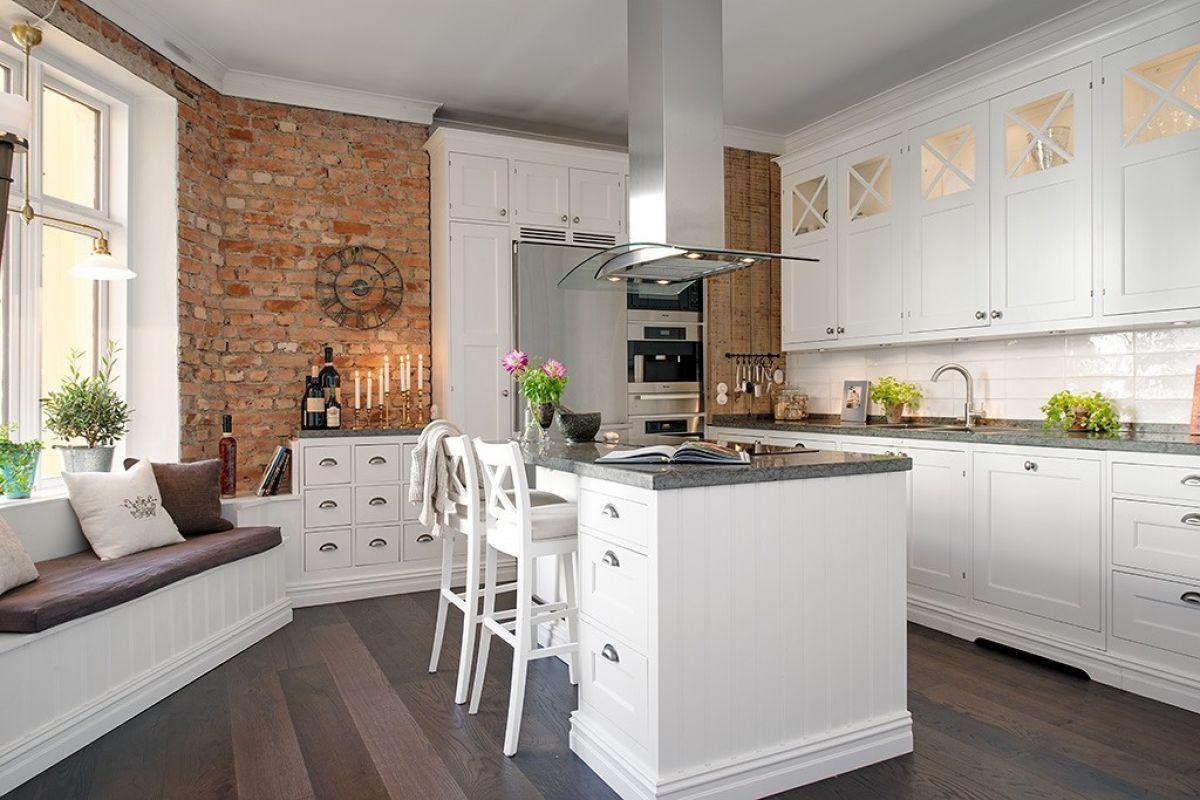Кухня в скандинавском стиле 7169