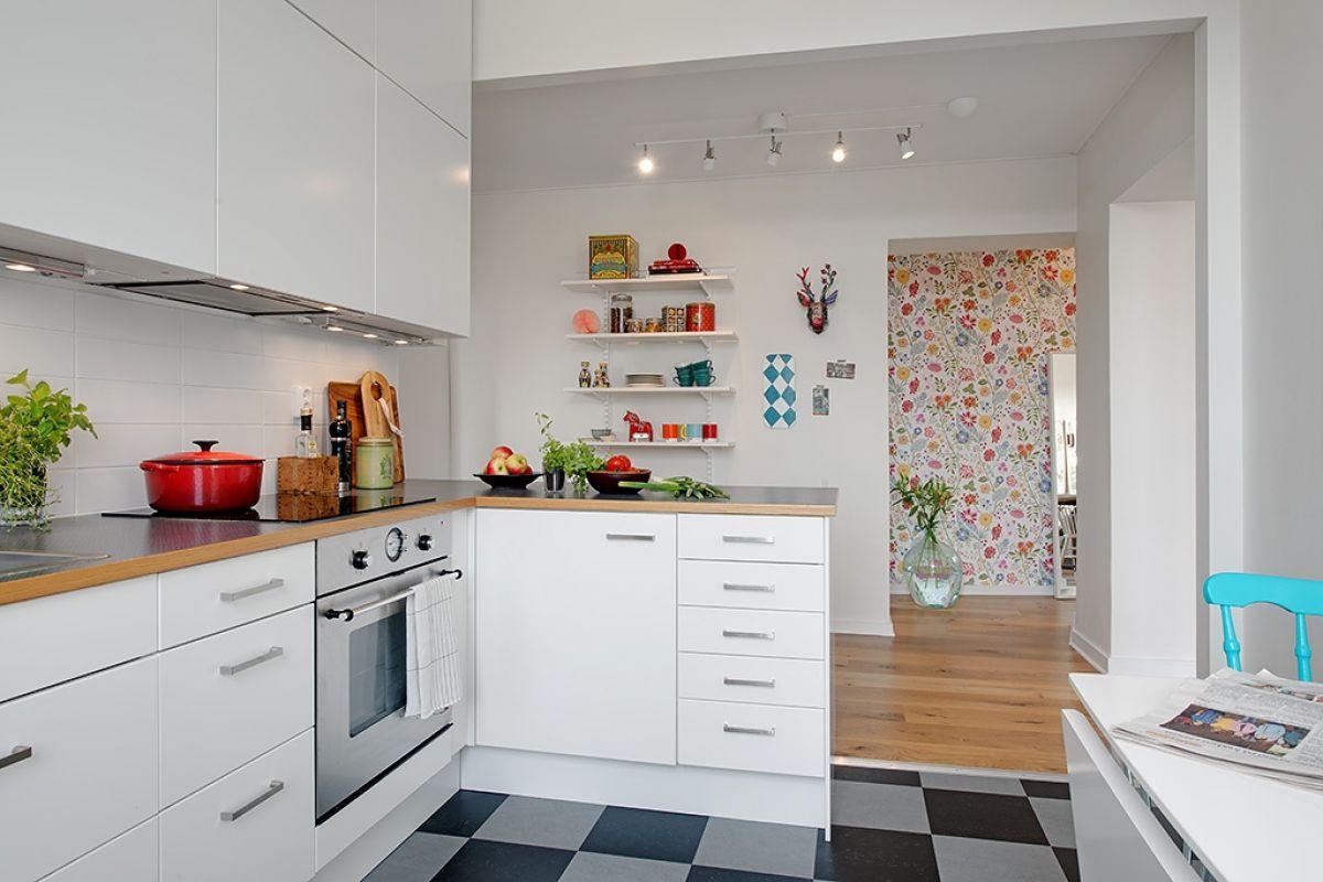 Кухня в скандинавском стиле 7170