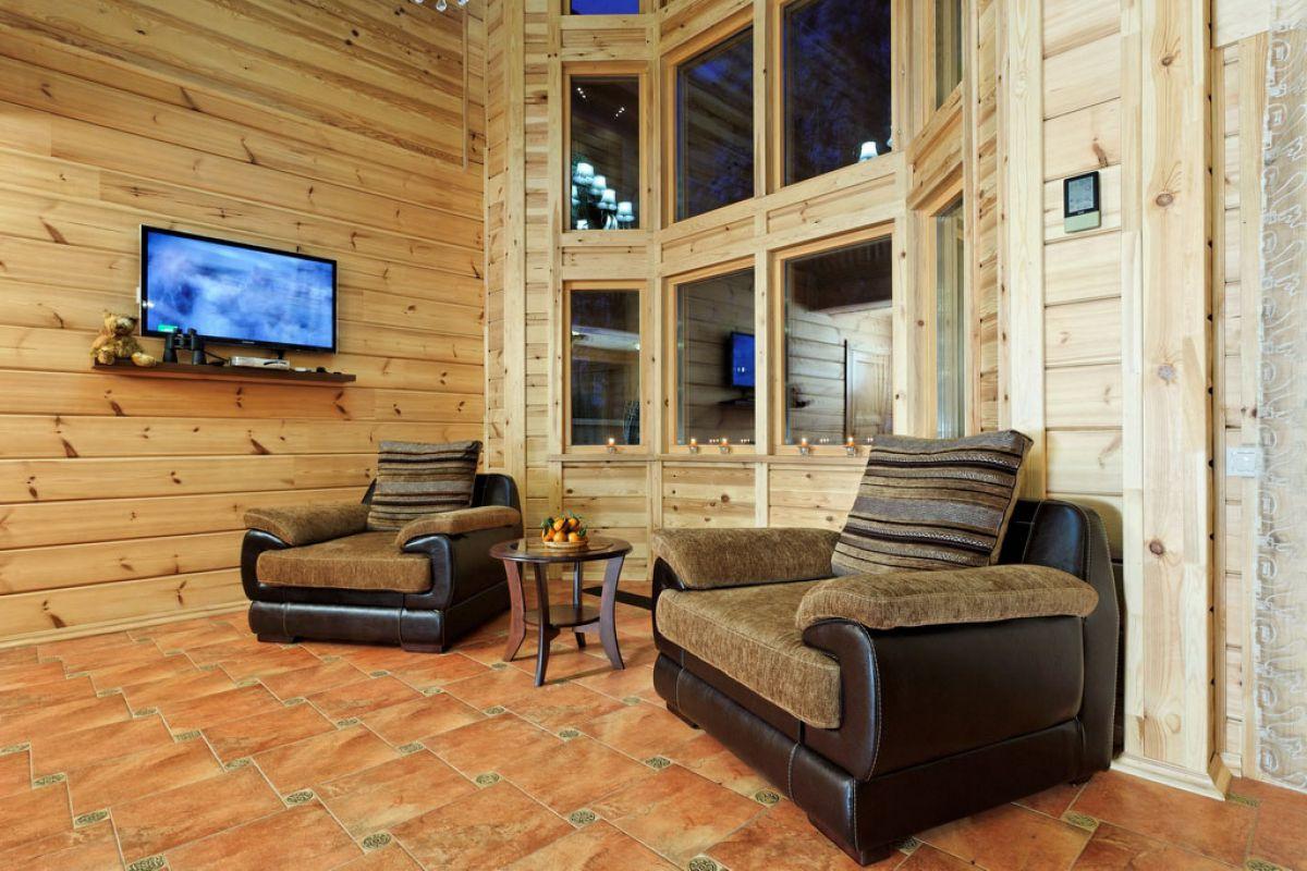 Внутренняя отделка деревянного дома 7262