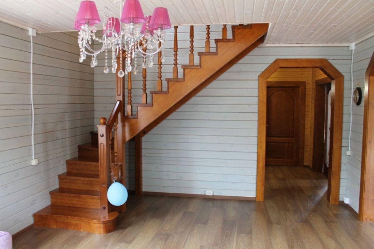 Внутренняя отделка деревянного дома 7265