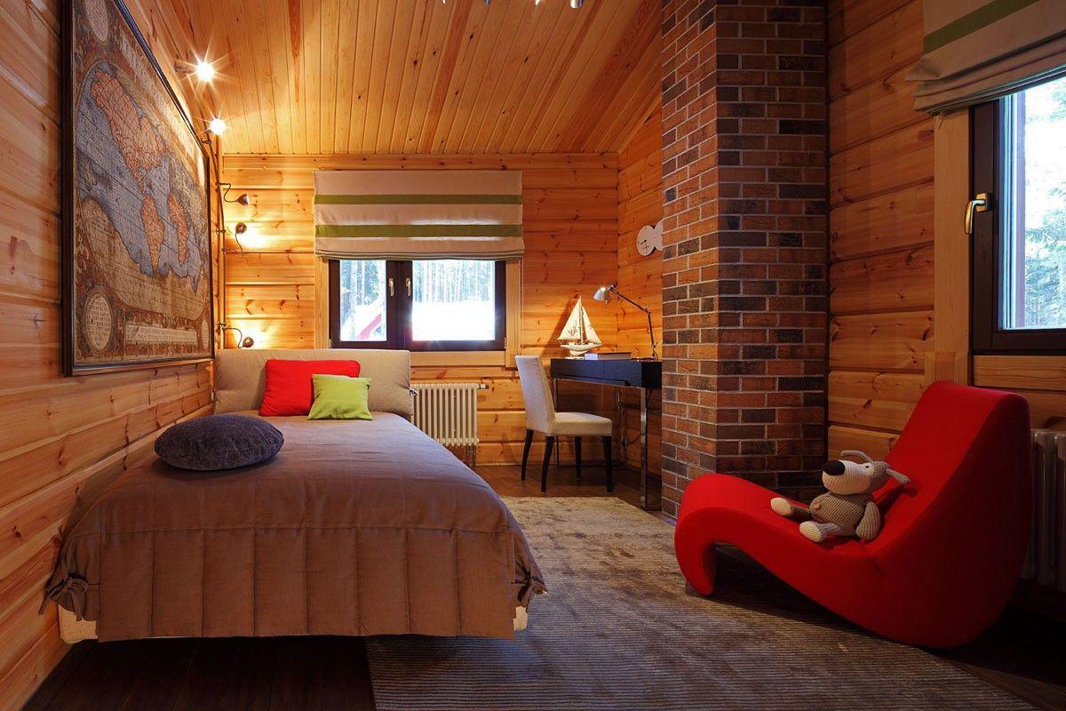 Внутренняя отделка деревянного дома 7266