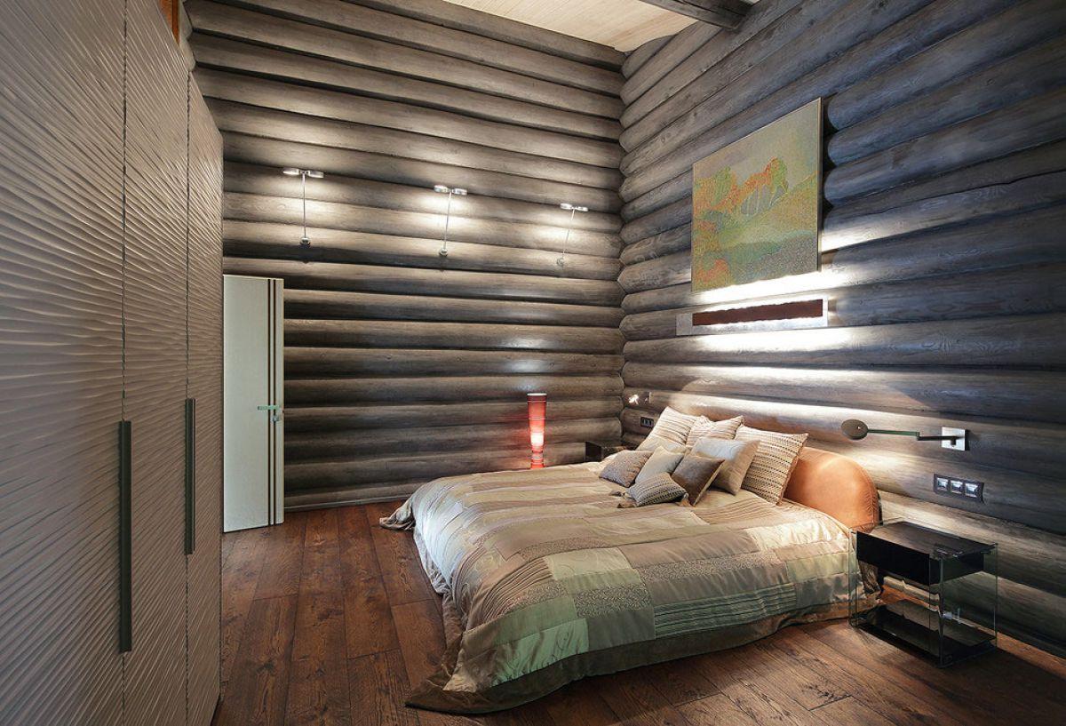 Внутренняя отделка деревянного дома 7267
